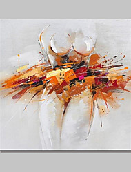 lager peint à la main peinture à l'huile abstraite moderne sur le mur de toile photo d'art pour la maison whit encadrer prêt à accrocher