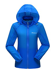 cheap -Unisex Hiking Jacket Outdoor Winter Waterproof Quick Dry Windproof Anti-Eradiation Breathable Top Camping / Hiking Hunting Fishing
