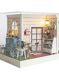Недорогие -Чи весело дом поделки кабины дом песчаный ручной модели творческие подарки счастливый час