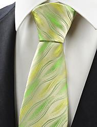 Muž Polyester / Umělé hedvábí Vintage / Roztomilý / Party / Pracovní / Na běžné nošení Kravata,Geometrie