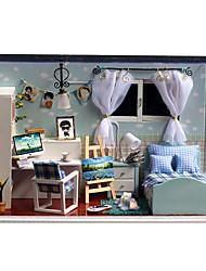Недорогие -Чи весело дом поделки хижина T-005 Haiyangzhixin творческий подарки ручной работы ручной работы модель дом