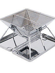 Folding Stove Camping Grill Portable Collapsible Stainless Steel Alloy for