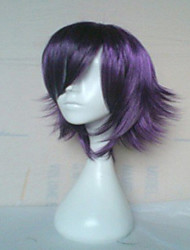 cheap -Popular Purple Color  Wig  Capless   Synthetic Wigs Long Straight Hair Wig
