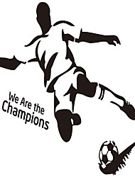 cheap -DIY Sport Football Vinly Wall Sticker for Boys Rooms Wall Art Decal Home Decoration Wall Mural