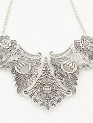 cheap -Women's Pendant Necklace - Ethnic European Geometric Flower Necklace For Formal Prom