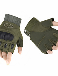 High Quality Outdoor Tactical Gloves Semi-finger Carbon Fiber Tortoise Shell Slip-resistant Gloves Military Combat