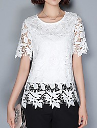 cheap -Women's Daily Street chic Summer Blouse