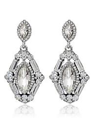 cheap -Women's Zircon / Cubic Zirconia - Fashion White Earrings For Wedding / Party