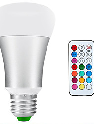 abordables -900-1200 lm E26/E27 Ampoules Globe LED A80 1 diodes électroluminescentes COB Intensité Réglable Imperméable Décorative Blanc Naturel RVB