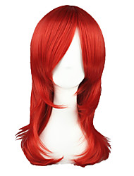 economico -Parrucche Cosplay Prince of Tennis Ace Rosso Medio Anime Parrucche Cosplay 55 CM Tessuno resistente a calore Uomo / Donna