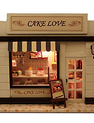 Недорогие -для европейского дома DIY изба хранит торт любовь с подарок дня лампа творческой китайской Валентина