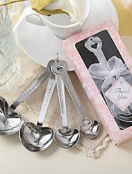 mariée à être partie coeur mesure cuillère en rose giftbox beter gifts® souvenirs de mariage