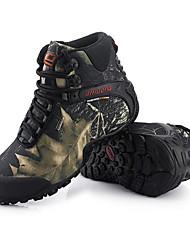 abordables -Zapatos de Montañismo Hombre A prueba de resbalones Amortización Resistencia al desgaste Interior Rendimiento Al aire libre Tela EVA