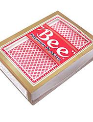 Недорогие -пулек пластиковых карт вибраторы красный (1 пара)