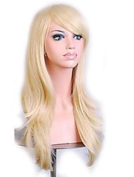 abordables -Pelucas sintéticas Ondulado Natural Pelo sintético Peluca Mujer Sin Tapa