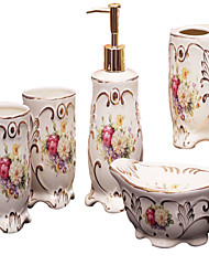 economico -Set di accessori per il bagno Alta qualità Ceramica 1set - Bagno dell'hotel