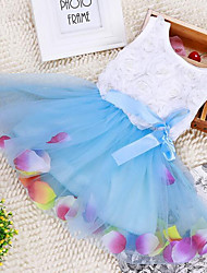 Robe bébé Fleur Décontracté / Quotidien Rayonne Eté-