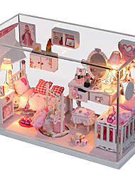 cheap -1PC Diy House Dreamlike Princess Creative Gifts A  Present Educational Toys Lights Led Lamp