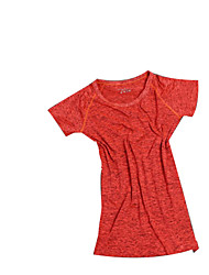 abordables -SPAKCT Mujer / Unisex Cuello Barco Maillot de Ciclismo / Camiseta de running - Verde, Azul, Gris Deportes Moda Top / Sets de Prendas