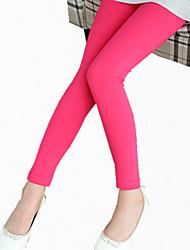 Pantalons Fille de Mosaïque Soirée / Cocktail Coton Toutes les Saisons / Printemps / Automne Bleu / Orange / Rose / Rouge / Jaune / Gris