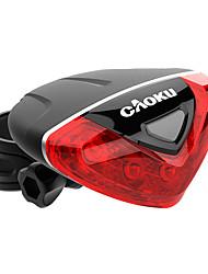 Недорогие -Задняя подсветка на велосипед Светодиодная лампа - Велоспорт Простота транспортировки Меняет цвета AAA 100 Люмен Батарея Велосипедный