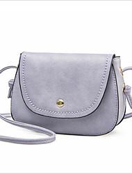 お買い得  -女性用 バッグ PU クロスボディーバッグ ボタン パープル / ブルー / ピンク