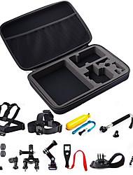 Acessório Kit Tudo em um Para Câmara de Acção Todos Gopro 5 Xiaomi Camera Gopro 4 Gopro 4 Silver Gopro 4 Session Gopro 3 Gopro 2 Gopro 1