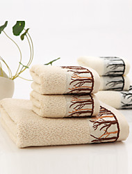 Serviette de bainJacquard Haute qualité 100% Fibre de bambou Serviette