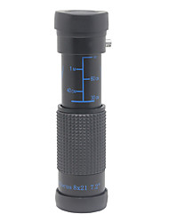 Недорогие -8x X 12mm Монокль Высокое разрешение Высокая мощность Зрительная труба Многослойное покрытие BAK4 пластик / Для охоты / Наблюдение за птицами