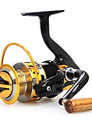 Moulinet bait casting 5.5:1 12 Roulements à billes Echangeable Pêche en mer / Pêche d'appât / Pêche d'eau douce-Baitcast Reels