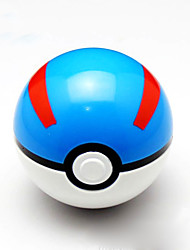 cheap -Pokeball PVC Action Anime Figures Pocket Little Monster balls PokeBall Fairy Ball Super Ball Master Ball Kids Toys Gift