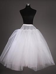 abordables -Cérémonie de mariage Occasion spéciale Déshabillés Filet de tulle Taffetas Mollet Robe de soirée longue Avec