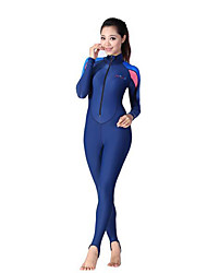 cheap -Dive&Sail Women's Dive Skin Suit Ultraviolet Resistant Compression Full Body Spandex Polyamide Long Sleeves Diving Suits Diving Surfing