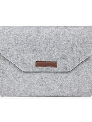 "cheap -Sleeve for Macbook 13"" Macbook Air 11""/13"" Macbook Pro 13""/15"" MacBook Pro 13""/15"" with Retina display Solid Color Textile Material"