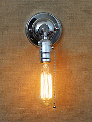 cheap -Retro American Country Style Wall Lights With a pull switch Restaurant Cafe Bars Bar Table Hallway Balcony