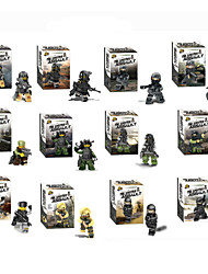 cheap -12piece/lot Wraith Assault Minifigures Block Bricks Series Plastic Models Building Toy For Kids Scale Models
