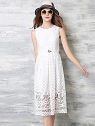 maxlindy женщин марочные выход / партии / сложные платье линии кружева