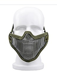 הגנה עצמית חיצוני חוט ציוד מגן חצי פן מסכת מסכת מגן בציוד רב בתחום ספורט