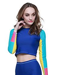economico -sbart® Per donna Mute Dive Skins Resistente ai raggi UV Compressione Tactel Scafandro Maniche lunghe Scafandri Costumi da bagno-