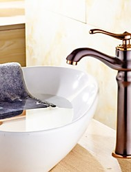 ORB Plated Single Handle Countertop Brass Basin Faucet Mixe