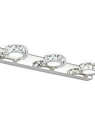 AC 85-265 9W LED Integrated Modern/Contemporary for Crystal / LED,Downlight Bathroom Lighting Wall Light