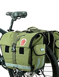 Недорогие -ROSWHEEL 50 L Сумка на багажник велосипеда / Сумка на бока багажника велосипеда Водонепроницаемость Дожденепроницаемый Пригодно для носки Велосумка/бардачок холст Нейлон Водонепроницаемый материал