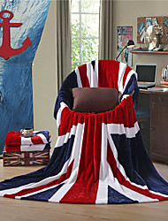 "cheap -The British Flag UK Super Soft Flannel Blanket  W59""×L79"""