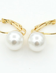 cheap -MOGE Women's Fashion About Pearl Earring