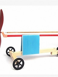 cheap -Science and technology small production model rubber band powered car