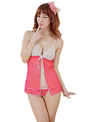 Women's Suits Nightwear,Sexy Lace Jacquard-Thin
