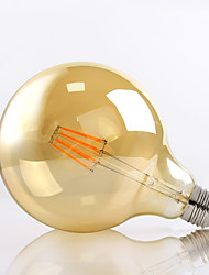 E26/E27 LED Filament Bulbs G125 8 High Power LED 650lm Warm White 2700K Decorative AC 220-240V
