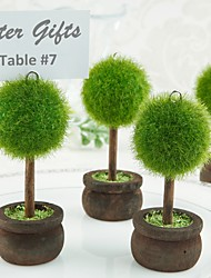 cheap -Gardening Place Card Holder Beter Gifts® Table Decoration (4pcs/Set) 4.5 x 4.5 x 9.5 cm/pcs