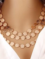 Недорогие -Жен. форма Богемные Ожерелья-бархатки Резина Ожерелья-бархатки Для вечеринок Повседневные Бижутерия