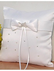 Ring Pillow Satin Vegas Theme / Asian Theme / Fairytale Theme / Floral ThemeWithRibbons / Bow / Rhinestones